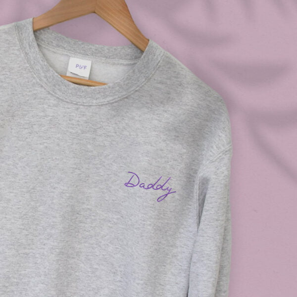Daddy embroidery - Unisex Relax fit Sweatshirt