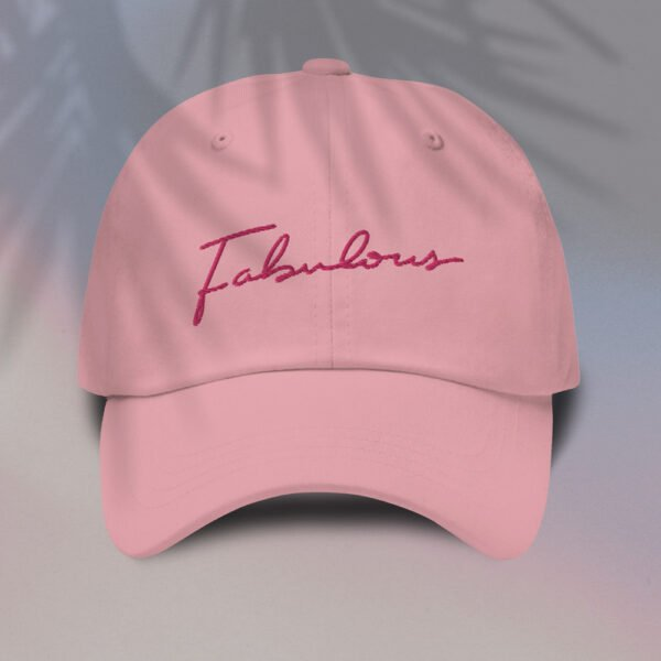 Fabulous Pink Embroidery - Cap
