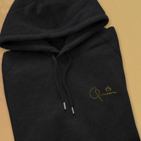 Queen Gold embroidery - Unisex Hoodie